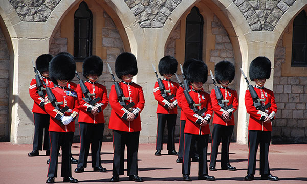 Secrets of Windsor Castle with a Noble Military Knighttuesday image