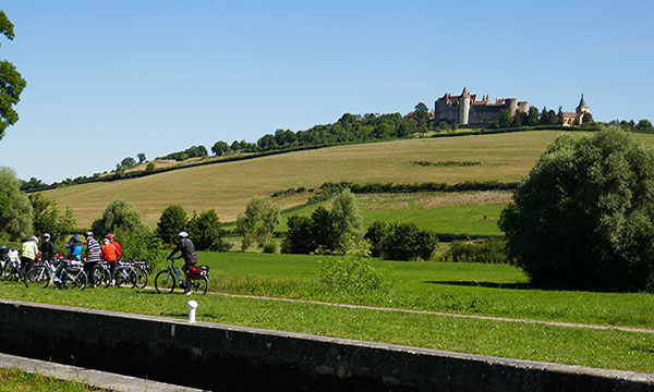 Bicycling Adventures and a Romantic Medieval Chateautuesday image