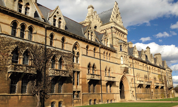 Christ Church College at Oxfordfriday image