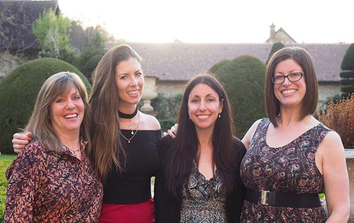 barge-ladies-in-burgundy